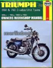 Triumph 650 & 750 2-valve Unit Twins T140 T120  (63 - 83) Haynes Manual